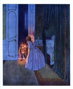 "Artus Scheiner's illustration from ""The Mouse King and the Nutcracker"""