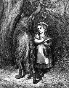Gustave Dore's Red Riding Hood