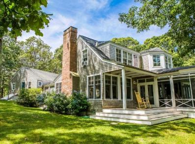 Perhaps Judy Blume's house on Martha's Vineyard? It's for sale! :)